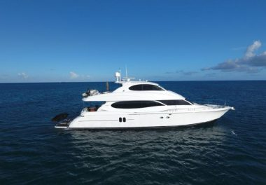 2003Lazzara Yachts 80 Skylounge - $1,395,000 boat for sale, photos and specifications
