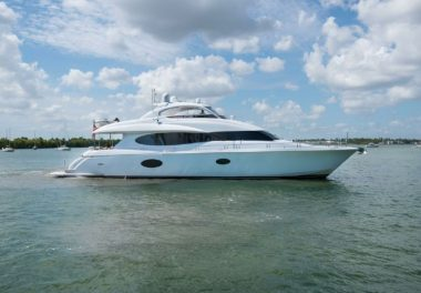 2007Lazzara Yachts Open Bridge Hard Top - $2,585,000 boat for sale, photos and specifications