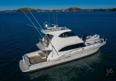 2009 Riviera 61 Enclosed Flybridge - $850,000 boat for sale, photos and specifications