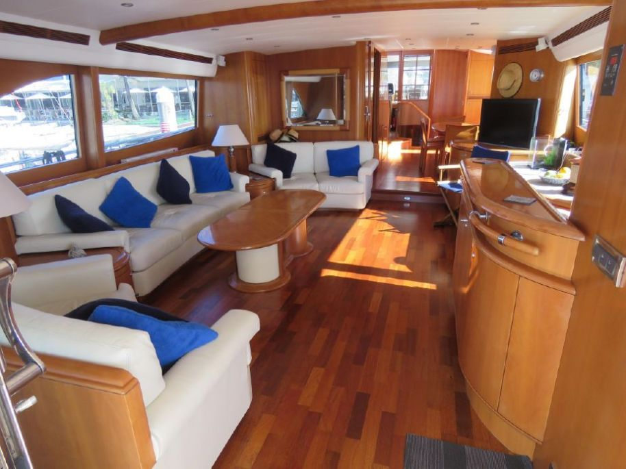 2004Guy Couach 96 Long Range Motor Yacht - $1,642,768 boat for sale, photos and specifications