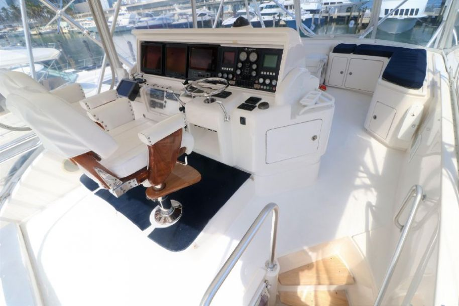 2005Bertram 67 Convertible - $1,149,999 boat for sale, photos and specifications