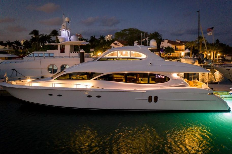 2005 Lazzara Yachts Flybridge - $2,550,000 boat for sale, photos and specifications