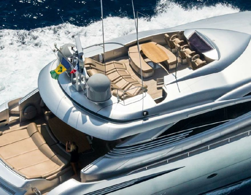 2006Pershing 115 - $2,587,704 boat for sale, photos and specifications