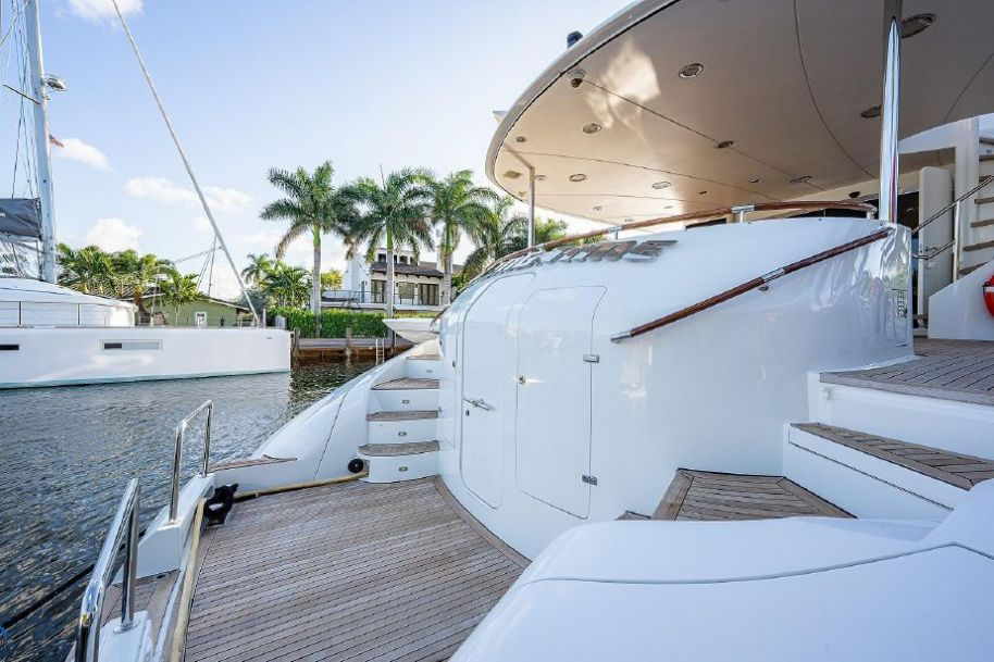 2007 Lazzara Yachts OPEN BRIDGE - $4,299,000 boat for sale, photos and specifications