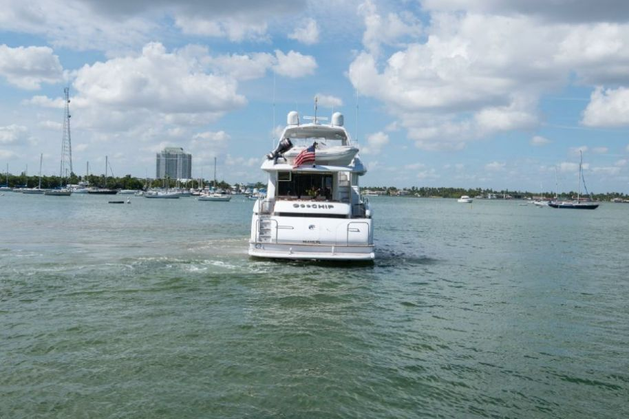 2007 Lazzara Yachts Open Bridge Hard Top - $2,585,000 boat for sale, photos and specifications