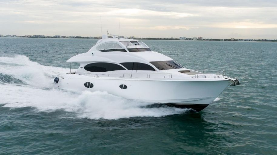 2009 Lazzara Yachts Motor Yacht - $3,499,000 boat for sale, photos and specifications