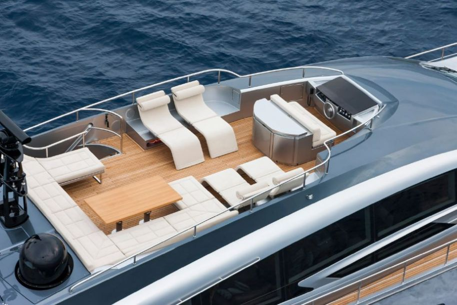 2019Pershing 108 - $14,120,120 boat for sale, photos and specifications
