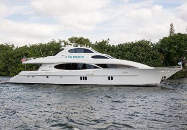 2005Lazzara Yachts Skylounge - $3,295,000 boat for sale, photos and specifications