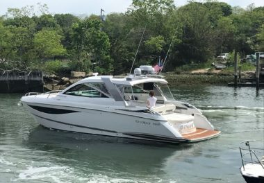 2017Cobalt A40 Coupe - $449,900 boat for sale, photos and specifications