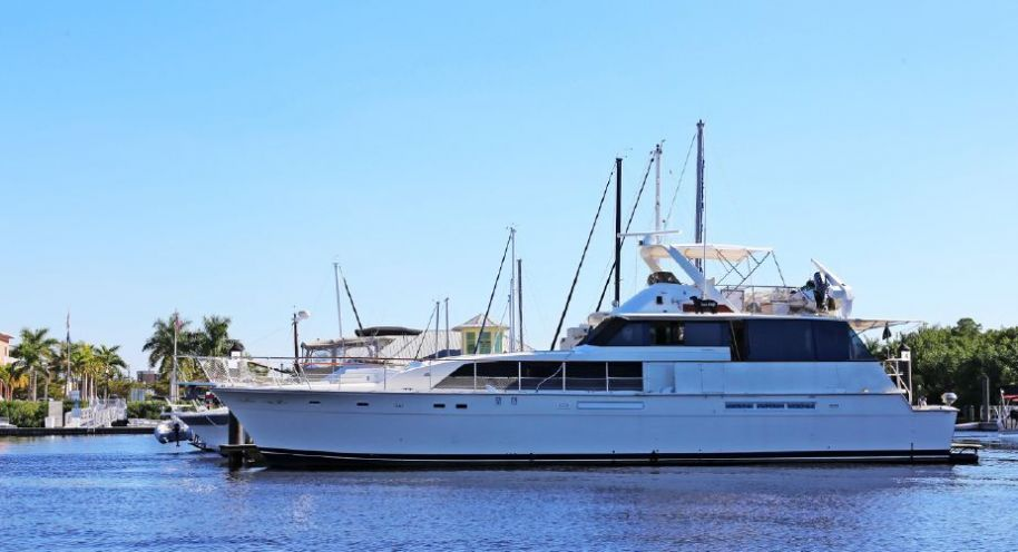 1984 Bertram 70 Cockpit Motor Yacht - $199,000 boat for sale, photos and specifications