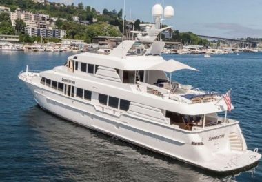 1997Hatteras 116 Motoryacht - $2,495,000 boat for sale, photos and specifications