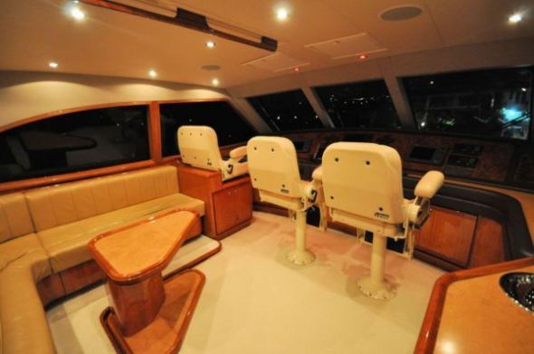 2004 Bertram Enclosed Bridge - $1,250,000 boat for sale, photos and specifications