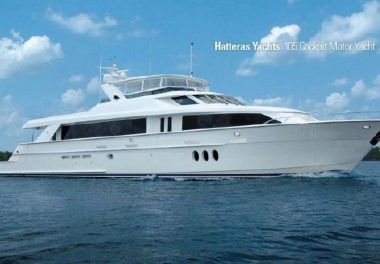 2011Hatteras 105 - $4,950,000 boat for sale, photos and specifications