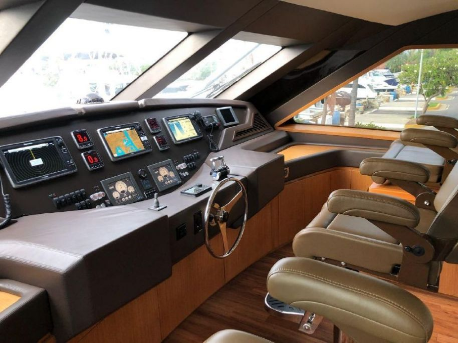 2013 Bertram 80 - $3,405,000 boat for sale, photos and specifications