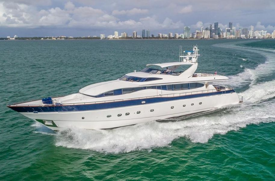 2002Viking Sport Cruisers 108 Motor Yacht - $1,350,000 boat for sale, photos and specifications