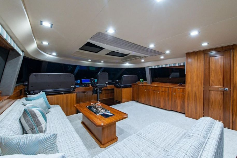 2018Viking Motoryacht Enclosed Flybridge - $8,900,000 boat for sale, photos and specifications