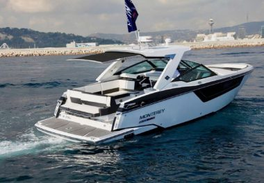 2021Monterey 378 Super Express - $529,755 boat for sale, photos and specifications