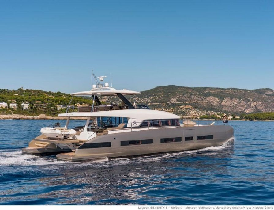 2018Lagoon Seventy 8 - $4,607,070 boat for sale, photos and specifications