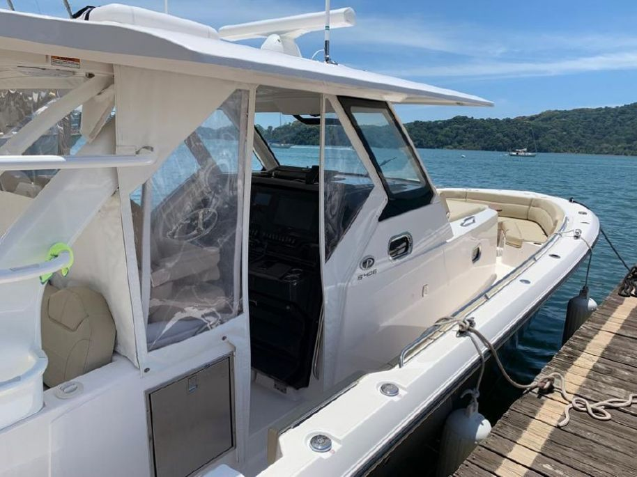 2018 Pursuit S 408 Sport - $590,000 boat for sale, photos and specifications